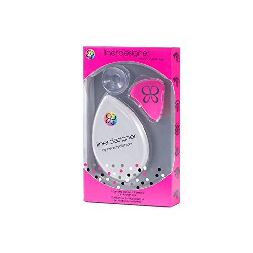 beautyblender liner.designer Eyeliner & Eye Pencil Tool with Magnifying Mirror & Suction Cup