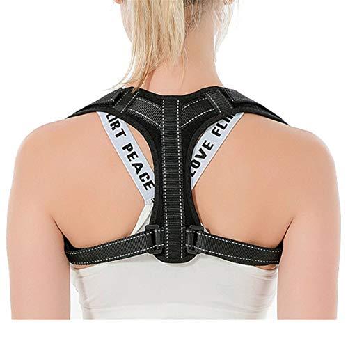 GJNWRQCY Corrector de Postura, Refuerzo de la Parte Superior de la Espalda para Soporte de...