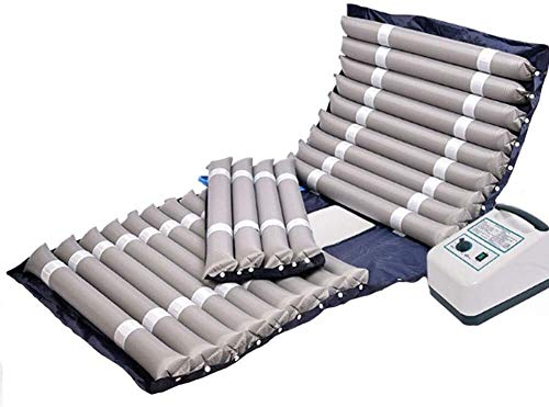 Full Body Massager Cushion,Air Mattress with Alternating Pressure Pump Sleep Bed Function Prevent Bedsores Decubitus Pneumatic Massage Cushion Relieving Back Lumbar Leg Pain 32