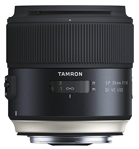 Tamron SP - Objetivo para Canon DSLR (Distancia Focal Fija 35mm, Apertura f/1.8, Di, VC, USD, diámetro Filtro: 67 mm), Negro