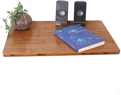 LAMTON Oficina de escritorio del ordenador portátil pequeño montado en la pared de la cocina comedor de escritorio plegable de alas abatibles tabla de la oficina Equipo estación de trabajo portátil So