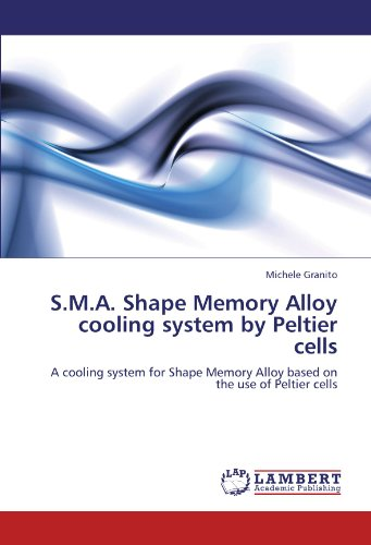 S.M.A. Shape Memory Alloy cooling system by Peltier cells