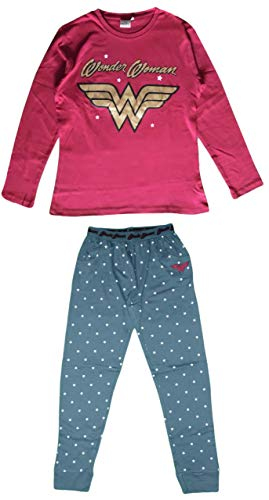 Wonder Woman DC Comics - Pijama Largo algodón