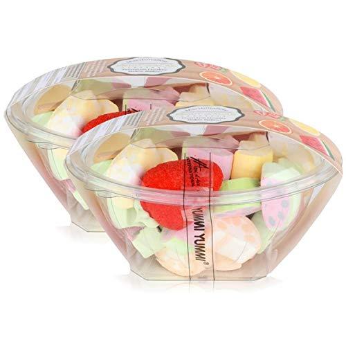 Mellow Mellow Marshmallow Fruit Salad 200g - Der Fruchtsalat (2er Pack)