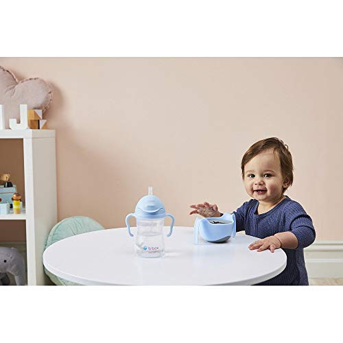 [b.box]Sippycupシッピーカップ漏れないどんな角度からでも飲めるストローマグおもり付き[6ヶ月からベビーカップ赤ちゃん用コップ贈り物ギフト]トレーニングマグトレーニングカップPVC・BPAフリー食洗器対応【正規品】[ビーボックス]ピスタチオsippycuppistachio