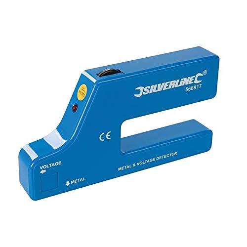 Silverline 568917 Metall- und Leitungsdetektor 1 Stck. 9-V-Batterie (PP3)