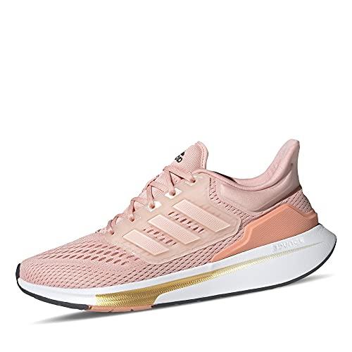 adidas EQ21 Run, Zapatillas de Running Mujer, ROSVAP/ROSVAP/RUBAMB, 38 2/3 EU