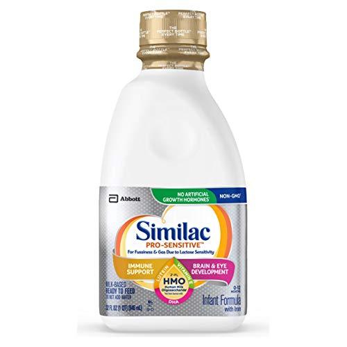 Similac Infant Formula with 2'-FL Human Milk Oligosaccharide (HMO) for Immune Support, 192 Fl Oz (Pack of 6)