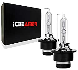 powerful ICBEAMER 8000K D2S D2CD2R Xenon Factory HID66040 66240 85122 OEM direct replacement …