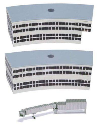 Herpa 519823-Edificio dell'aeroporto-2 Sale partenze, Miniatura per Il ritocco, la Raccolta e Come Regalo, 519823