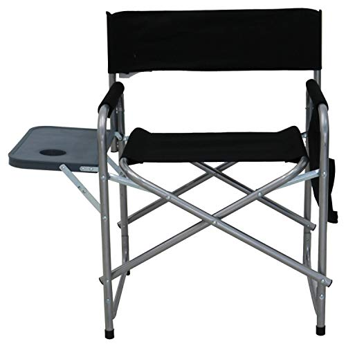 Oypla Folding Lightweight Outdoor Portable Directors Camping Chair