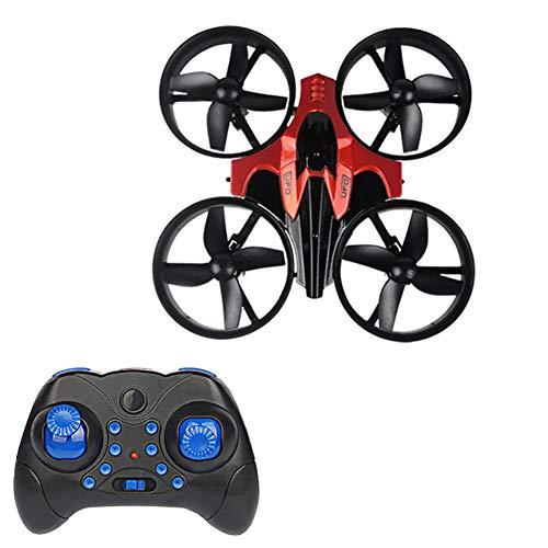 Delili Mini Drone pour Enfants/débutants, Drone Rc avec contrôle des Applications, Mode sans tête, Bascule 3D, décollage/atterrissage à Un Bouton, adapté aux Enfants et aux débutants,Rouge
