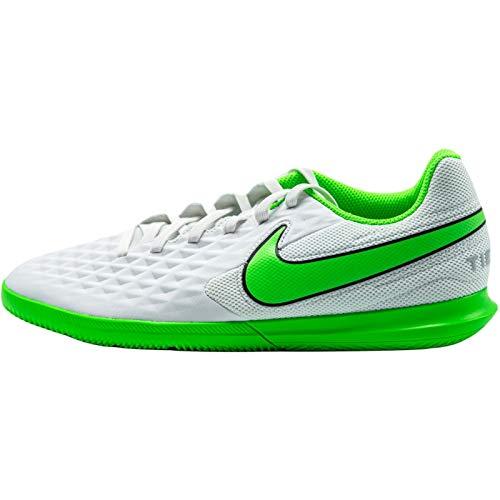 Nike Herren AT6110-030_45 Indoor Football Trainers, Platinum Tint Rage Green Black, EU