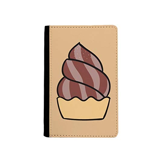beatChong Harina De Avena Dulce De Chocolate Helado Bolso De Viaje con Pasaporte Tarjeta De La Caja Cubierta De La Carpeta