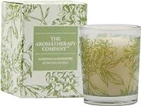 The Aromatherapy Company アロマセラピーカンパニー ボックスキャンドル ガーデニア&ローズマリー