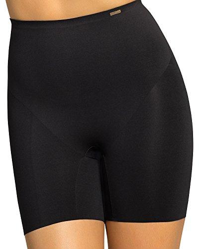 Leonisa Women's Invisible Padded Booty Lifter Enhancer Shaper Short Gray
