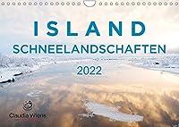 ISLAND - Schneelandschaften (Wandkalender 2022 DIN A4 quer): Magische Winterlandschaften laden zum Traeumen ein. (Monatskalender, 14 Seiten )