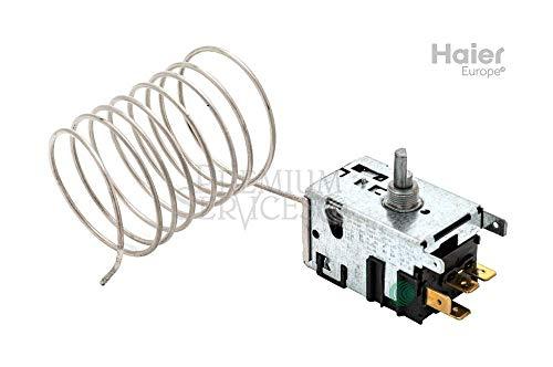 Original Haier-Ersatzteil: Thermostat für Gefriertruhe Herstellernummer SPHA01227993 | Kompatibel mit den folgenden Modellen: HC0SM731AWT | Termostate-077B3539