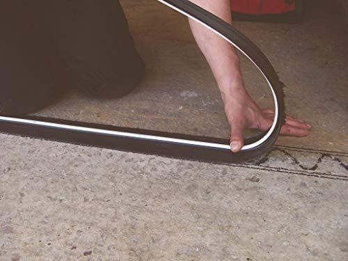 Stormguard 04SR5072515BL 2515mm Garage Floor Threshold Seal - Black