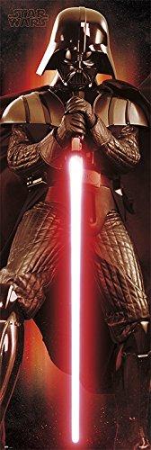 Grupo Erik Editores Tür-Poster mit Motiv Star Wars Darth Vader, 53x 158cm