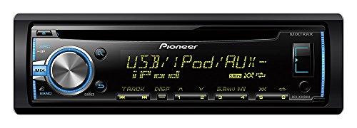 Pioneer DEH-X3800Ui Autoradio mit RDS-Tuner, CD, USB und Aux-In für MIXTRAX EZ, iPod/iPhone und Android