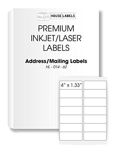 1,000 Sheets; 14,000 Labels, 14-UP, Address/Mailing Labels (4.0