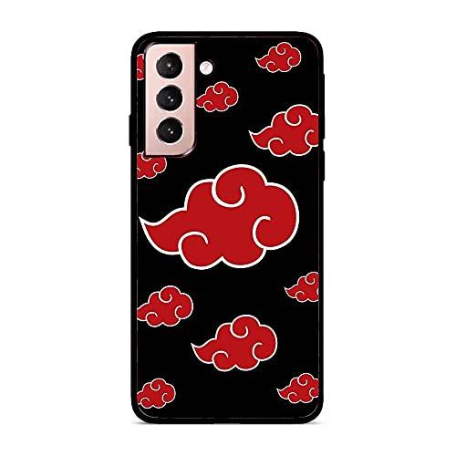 Black Thin Soft Matte Rubber Case Cover for Samsung Galaxy S21+/S21 Plus-Anime-Naruto Itachi Uchiha 2