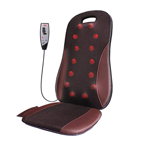 Drogerie & Körperpflege / Wellness / Massage & Ent Multifunktionales Körpermassagekissen Home Auto Massagekissen Ganzkörpermassage Sitzkissen (Color : Red, Size : 40x15x97cm)