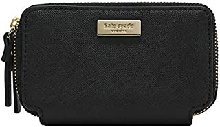 Kate Spade Rosie Laurel Way Double Zip Around Wallet Black