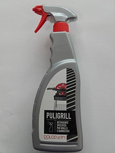 Dolcevita BBQ ADPSG Detergente per Griglie e Forni, Argento, 9x5x29 cm