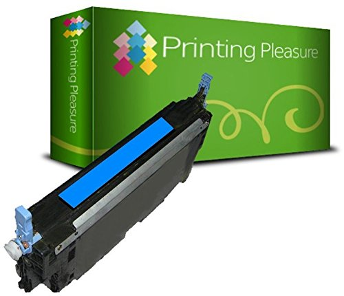 Printing Pleasure Toner kompatibel zu Q6471A für HP Color Laserjet 3600 3600DN 3600N 3800 3800DN 3800DTN 3800N CP3505 CP3505DN CP3505N CP3505X - Cyan, hohe Kapazität