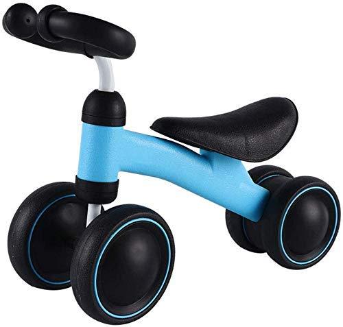 Veiligheidscadeau Kinderfietsen Baby-balanceerwagen, Kinder-uitgebalanceerde kinderwagen Loopstoeltje Geen pedaal-scooter Yo (Kleur: Oranje, Maat: 19.3inch)