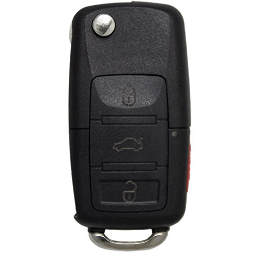 Keyless2Go New Keyless Remote 3 Button Flip Car Key Fob for Vehicles That Use FCC CWTWB1U311 GQ43VT11T
