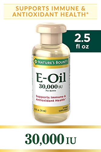 Nature's Bounty Vitamin E-Oil 30,000 IU (Topical or Oral), 2.5 ounces