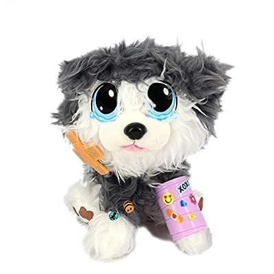 Rescue Runts II Plush Pet You Can Adopt & Rescue, Husky Dog