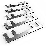 AUPROTEC Sicherungsstreifen Blattsicherung - Blechsicherung 30A - 150A Auswahl: 125A Ampere, 5 Stück -