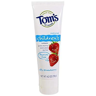 Tom's of Maine Fluoride Free Children's Toothpaste