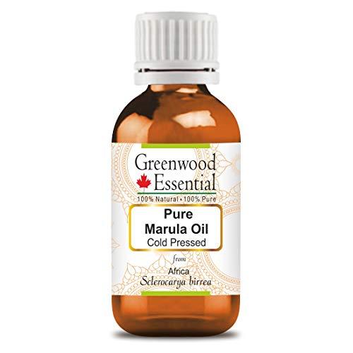 Greenwood Essential - Aceite puro de marula (Sclerocarya birrea) de calidad prémium y grado terapéutico para aromaterapia y el cuidado de la piel y el cabello, 15 ml