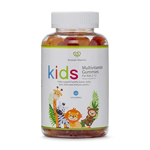 Amanah Children's Multivitamin Gummy - 120 Count - Halal Vitamins - 2 Month Supply