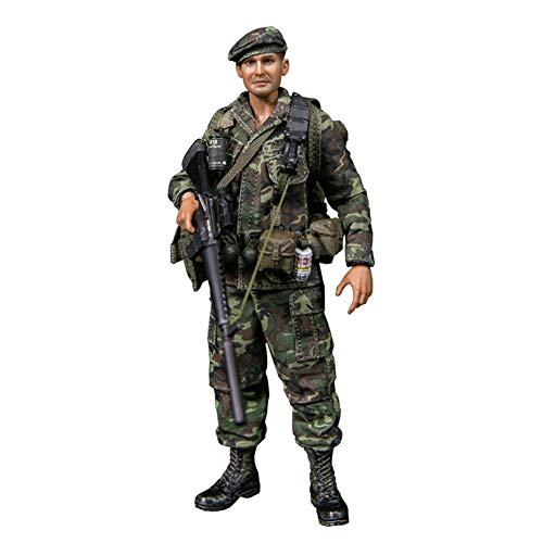 ZSMD 1/12 Action-Figur, Vietnam-Krieg US Marine Force Recon Special Forces Army Man Action-Figuren Spielset
