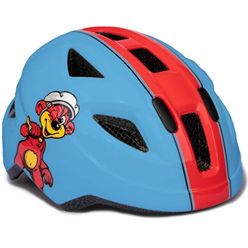 Puky PH 8 Kinder Fahrrad Helm Gr.45-51cm blau/rot