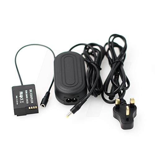 Dummy Battery DMW-DCC8 - Acoplador de CC y adaptador de corriente alterna...