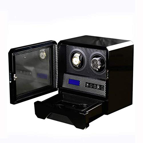 NBVCX Home Accessories 2 Automatic Piano Paint Unisex Watch Winder Mechanical Watch...