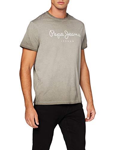Pepe Jeans West Sir Camiseta, Gris (Dapple 964), Medium para Hombre