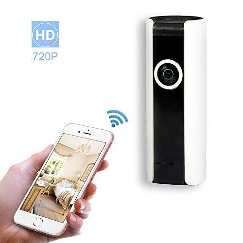 V 180 Camera met standaard | 1,3 MP | ASP 1801F130W Mini Draadloze IP Camera Wi-Fi IP Camera Beveiliging Beveiliging Systeem Baby Huisdier Monitor 180° groothoek, 2-weg Audio