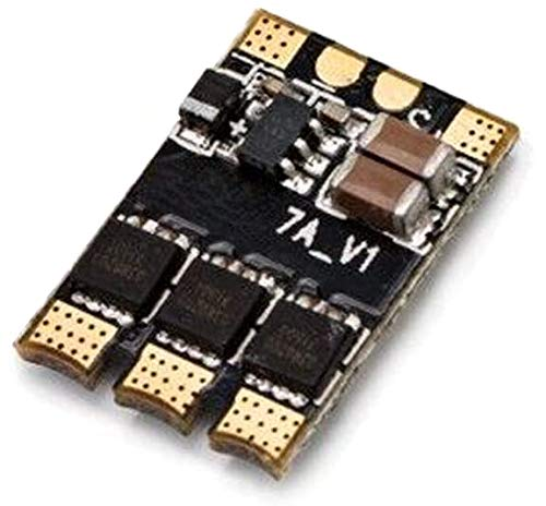 FlashHobby XSD7A Micro Speed Control BLheli_S 7A esc XSD7A Dshot600 / Dshot300 / Oneshot42 / Multishot and Damped Light 1-2s for FPV ESC