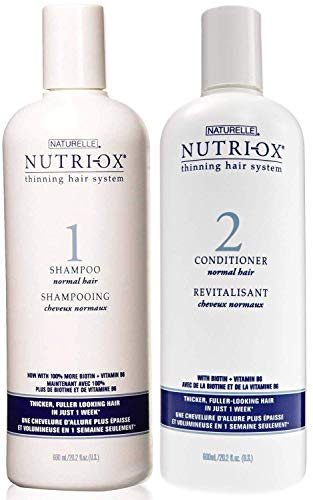 Nutri Ox Shampoo and Conditioner for Normal Hair (20 Ounce)