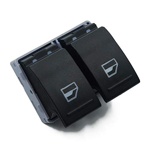 Pasajeros de energía eléctrica Interruptor de Control de la Ventana de Botones/Ajuste for Volkswagen Transporter T5 T6 VW 2005-2014 7E 0959 855 (Color : Master Window Switch)