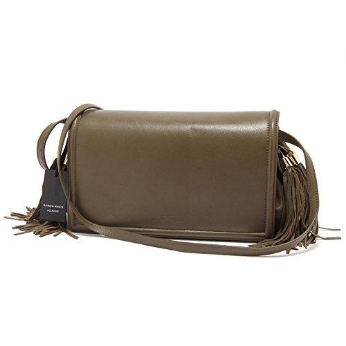 Elisabetta Franchi 7860S borsa donna vintage effect verde tracolla bag woman [TAGLIA UNICA]