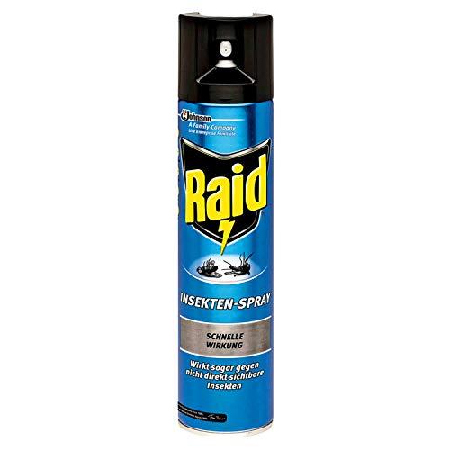 Raid 400ml Insekten Spray schnelle Wirkung langanhaltender Schutz Fliegen Wespen